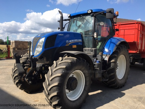 NEW HOLLAND T7 200 AC